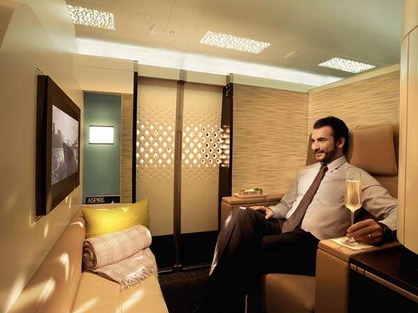Etihad Airways, suite