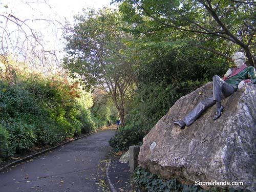 Oscar Wilde en Merrion Square