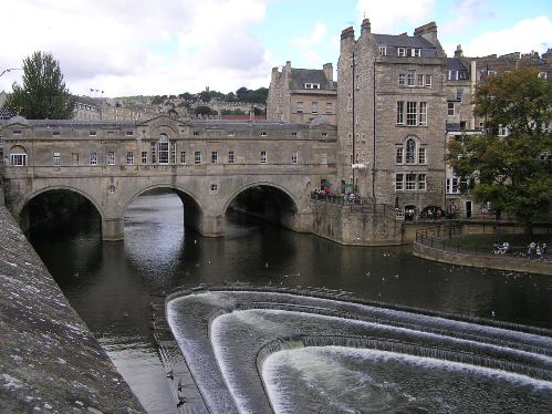 Puente Pulteney en Bath