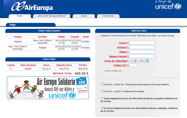 air europa solidaria